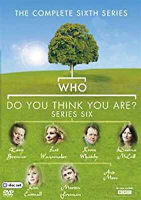 WHO DO YOU THINK YOU ARE COMPLETE SERIES 6 DVD Sixth Season Amanda Redman UK New