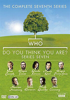 WHO DO YOU THINK YOU ARE COMPLETE SERIES 7 DVD Seventh Season Amanda Redman New