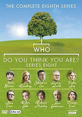 WHO DO YOU THINK YOU ARE COMPLETE SERIES 8 DVD Eigth Season Amanda Redman UK New