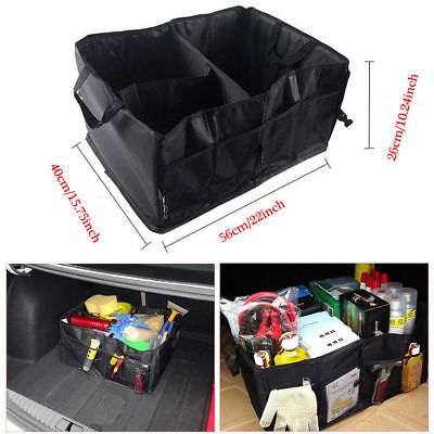 NEW Car Trunk Organizer Bag - Storage with Straps Foldable Storage Collapse