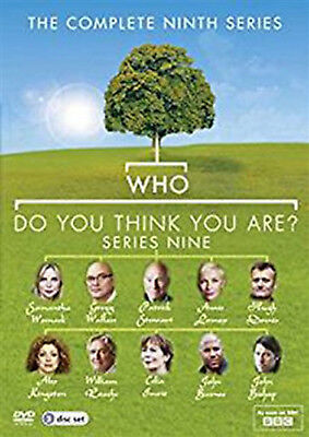 WHO DO YOU THINK YOU ARE COMPLETE SERIES 9 DVD Ninth Season Amanda Redman UK New