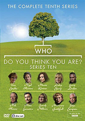 WHO DO YOU THINK YOU ARE COMPLETE SERIES 10 DVD Tenth Season Amanda Redman New