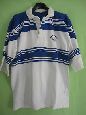 Maillot Rugby Castres Olympique Coton Vintage 80'S jersey Made in France - 5 / L