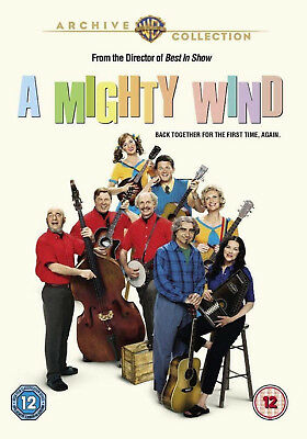 A MIGHTY WIND DVD Christopher Guest Eugene Levy Parker Posey UK Release New R2