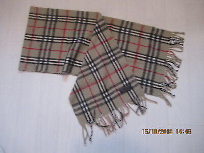 Burberry's of London scarf