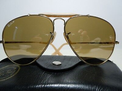 RAY BAN Outdoorsman The General 50th Anniversary Cal.62 By B&L USA with case