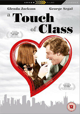 A TOUCH OF CLASS DVD George Segal Glenda Jackson Melvin Frank UK Release New R2