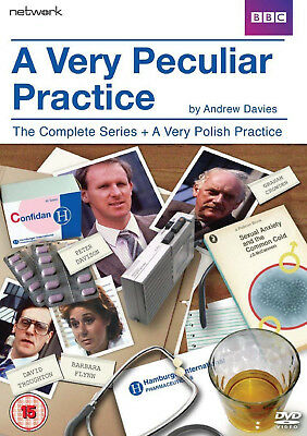 A VERY PECULIAR PRACTICE COMPLETE DVD Peter Davison Barbara UK Release New R2