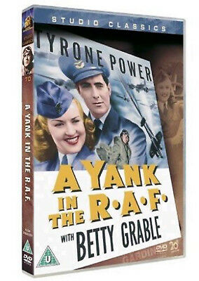 A YANK IN THE R A F RAF DVD Tyrone Power Betty Grable Original UK Release New R2