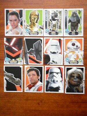 Star Wars - Force Attax Lot Of 12  (Topps collector cards) Lot 1
