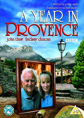 A YEAR IN PROVENCE DVD John Thaw Lindsay Duncan David Tucker UK Release New R2