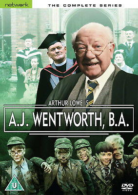 A.J WENTWORTH BA COMPLETE DVD Arthur Lowe Marion Mathie Michael Mills UK New R2
