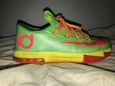 6a2b3e5c664 NIKE Kevin Durant KD 6 VI SONIC YELLOW SEAT PLEASANT Custom Premium Socks.   17.60 Buy It Now 18d 15h. See Details. Nike KD 6