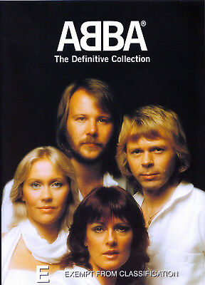 ABBA THE DEFINITIVE COLLECTION DVD Anni-Frid Lyngstad Benny UK Release New R2