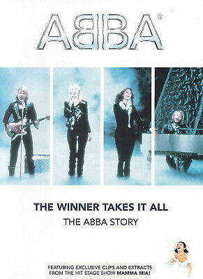 THE ABBA STORY WINNER TAKES IT ALL DVD Musicals Broadway UK Release New R2
