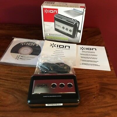 Ion tape to MP3 converter/player, complete, boxed, unused