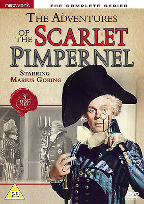 ADVENTURES OF THE SCARLET PIMPERNEL COMPLETE SERIES DVD Elizabeth Mcgovern NEW
