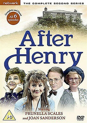 AFTER HENRY COMPLETE SERIES 2 DVD Second Season Prunella Scales Joan UK New R2