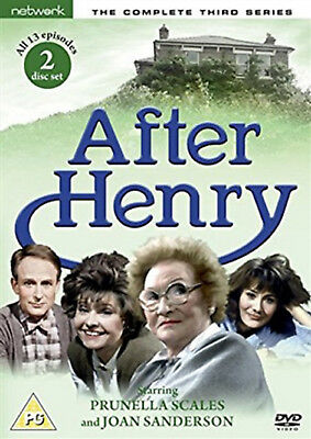 AFTER HENRY COMPLETE SERIES 3 DVD Third Season Prunella Scales Joan UK New R2