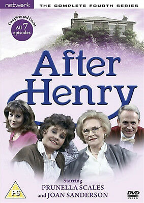 AFTER HENRY COMPLETE SERIES 4 DVD Fourth Season Prunella Scales Joan UK New R2