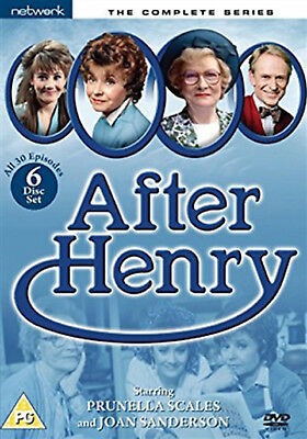 AFTER HENRY COMPLETE SERIES 1-4 DVD  Season 1 2 3 4 Prunella Scales Joan UK New