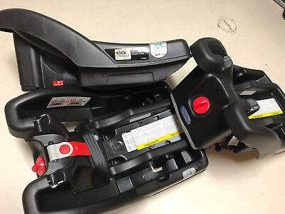 3 Graco click connect car seat bases