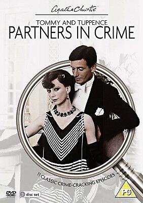 AGATHA CHRISTIE'S TOMMY AND TUPPENCE PARTNERS IN CRIME DVD James Warwick UK New