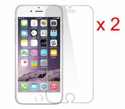 Apple Iphone 6S 2 X 100% Genuine New Tempered Glass Film Screen Protector