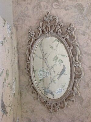 Reproduction Carved Mirror Oval