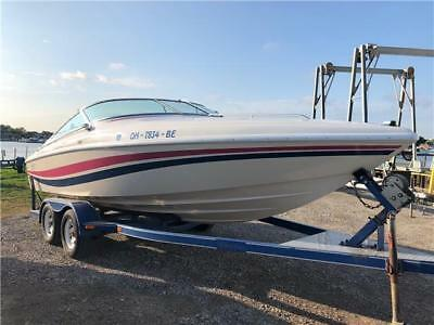 1993 Baja 22' Caliber Twilight Cruiser 299 HOURS~ 350 MAG MERCRUISER~w/TRAILER!