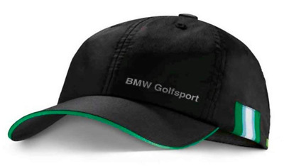 BMW New Original Golfsport Golf Baseball Cap Hat schwarz 8016228575