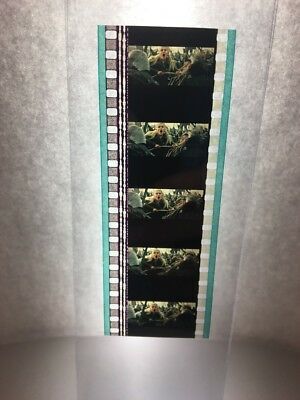 Authentic Lord Of The Rings RETURN OF THE KING Movie Film Strip 5 Cells LEGOLAS