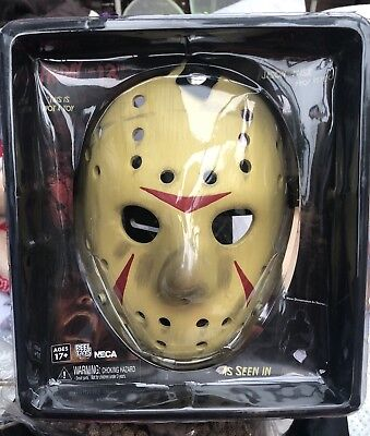 Neca Friday The 13th Part 3 Prop Replica Jason Mask New Free