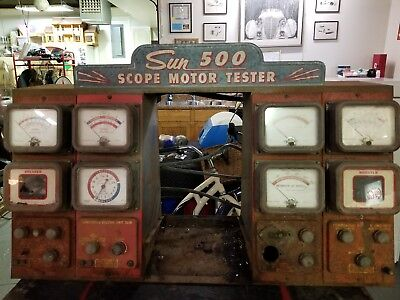 Sun 500 motor tester machine for parts or restore