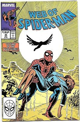 WEB OF SPIDER-MAN #45 Comb. Shipping!!!