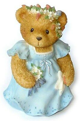 Cherished Teddies Glad to Be Part of You Special Day Bridesmaid Figurine #476323