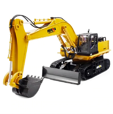 Best RC Heavy Equipment Remote Control Hydraulic Excavator Bulldozer Kids Toy