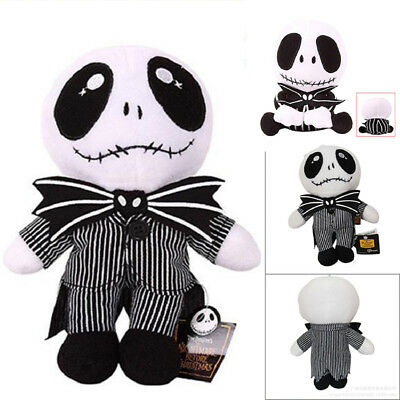 "8""/9"" The Nightmare Before Christmas Jack Skellington Soft Plush Toy Doll Xmas"
