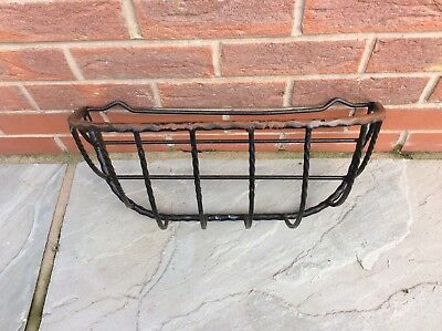 Wrought Iron Wall Planter, Hay Staker