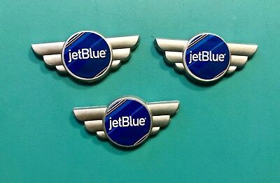 3 Jetblue Airways Plastic Kid Wings
