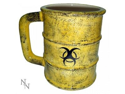 Nemesis Now Toxic Waste Bio Hazard Zombie Tea Coffee Mug Cup Halloween Gift