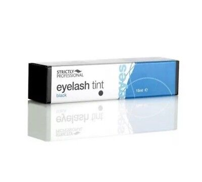 Strictly Professional Eyelash & Eyebrow Tint Black 15Ml