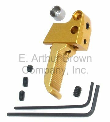 Majestic Arms GS-1 Gold Standard LOP Trigger Fits Ruger Mark III, Mark IV, 22/45