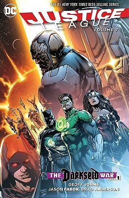 Justice League TP Vol 7 Darkseid War Part 1 by Geoff Johns (Paperback, 2016)