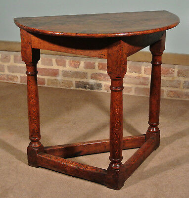 19th Century Oak 'Credence' Style Table