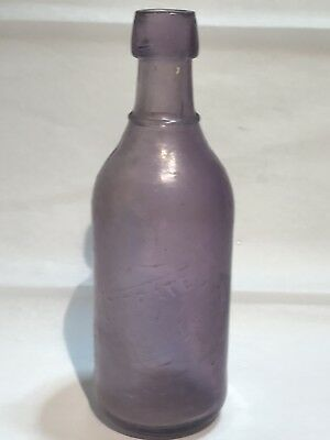 Antique 1880's Bottle Citrate Of Magnesia