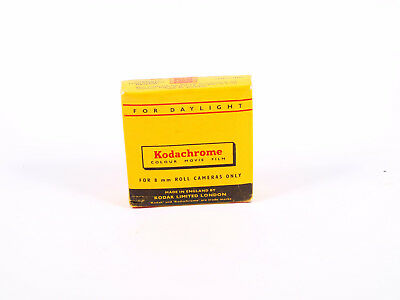 USED Kodachrome  Colour Movie Film Double 8mm Roll Exp 1961