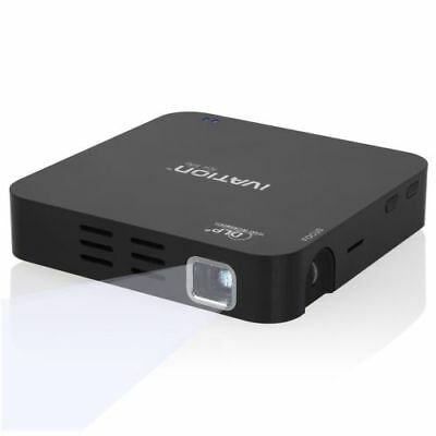 Ivation Portable Pocket HDMI Travel Projector (Black)