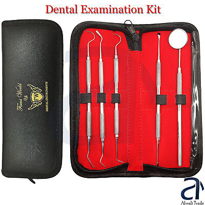 Dental Student Examination Kit Tartar Calculus Plaque Remover Oral Hygienic Lab