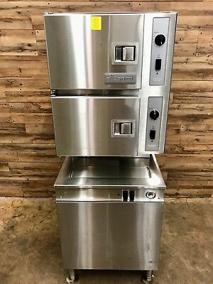 2010 Cleveland 24-CEM-24 Classic Series 6 Pan Electric Convection Floor Steamer